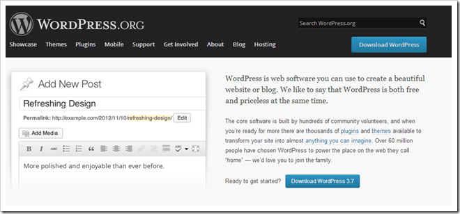 [Blog]Wordpress 3.7 Released and available for Download (5)