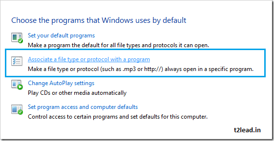 [How To] Associate a filetype to a Specific Program in Windows (2)