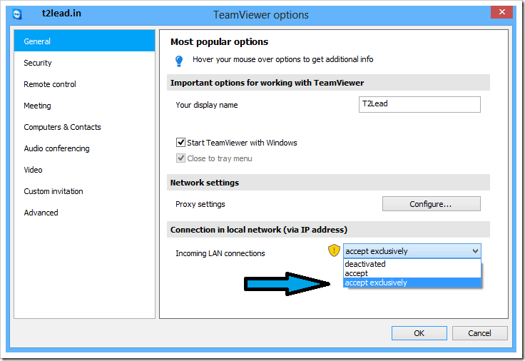 [How To] Control Computers Via WiFi using TeamViewer (3)