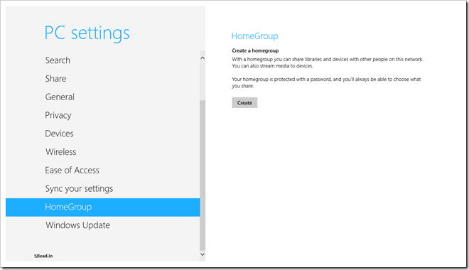 [How To] Create HomeGroup in Windows 8 (2)