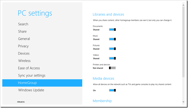 [How To] Create HomeGroup in Windows 8 (3)
