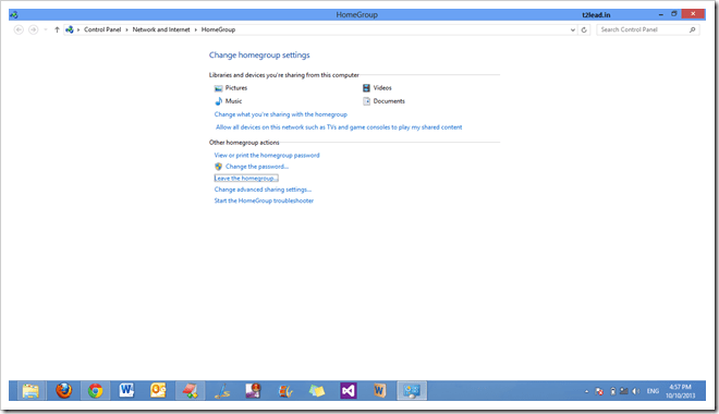 [How To] Create HomeGroup in Windows 8 (5)