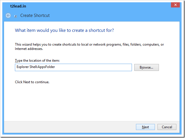 [How To] Launch All Applications from Desktop in Windows 8 (2)
