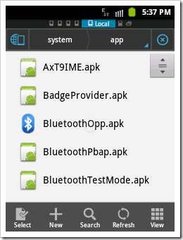 [How To]Get System Default .apk files in Android (3)