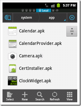 [How To]Get System Default .apk files in Android (4)