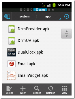 [How To]Get System Default .apk files in Android (6)