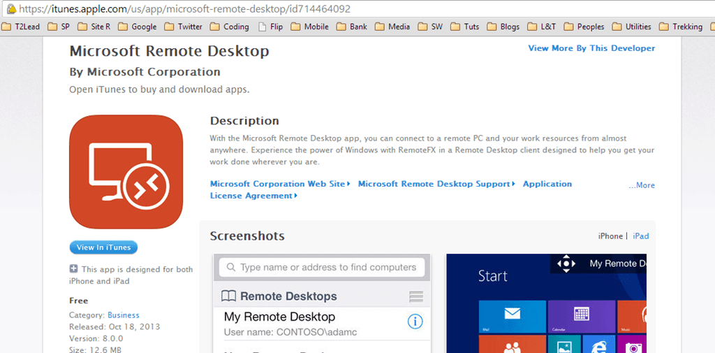 MApp]Download Microsoft Remote Desktop App for Android and iOS