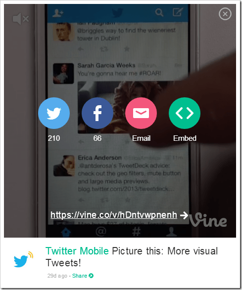 How To Embed Vine Videos on BlogsWebsite (4)