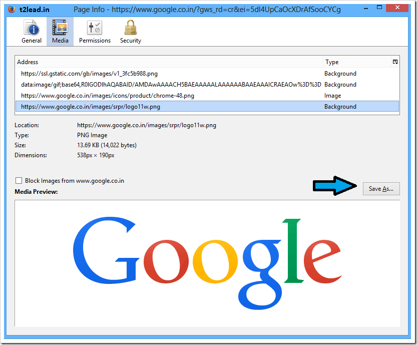 [How To] Get All images from a website in FireFox (1)