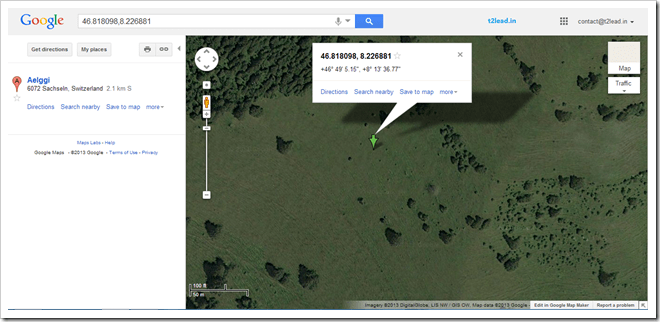 How To Get the Latitude & Longitude of any Location in Google Maps (1)