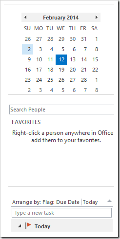 How To Enable To-Do Bar in Outlook 2013 (2)