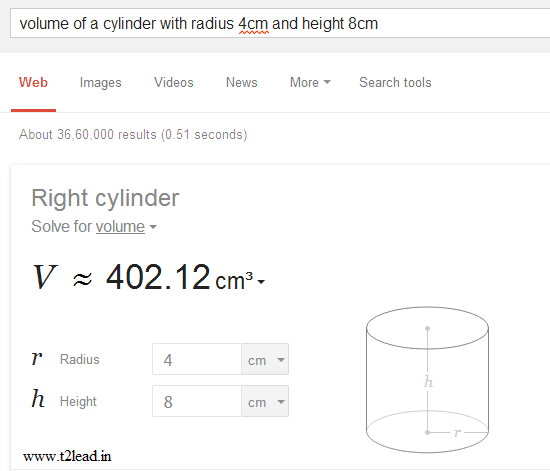 Google Geometry Calculator - Solves Geometry Problems (3)