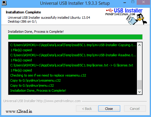 How To Create Linux Operating System Bootable in USB (5)