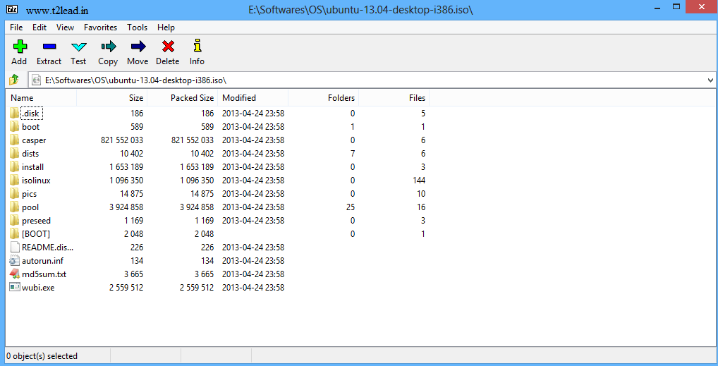 How To View, Extract the Contents of .ISO Files using 7 Zip (2)