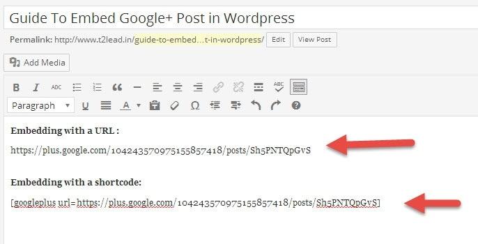 Google Plus Embed (2)