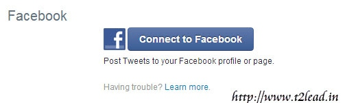 Guide To AutoPost Twitter Mesages to Facebook (1)