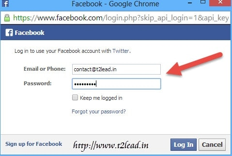 Guide To AutoPost Twitter Mesages to Facebook (2)