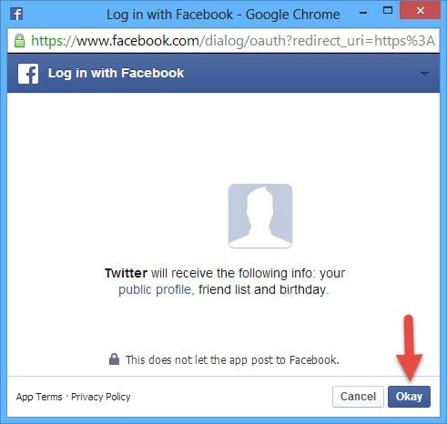 Guide To AutoPost Twitter Mesages to Facebook (3)