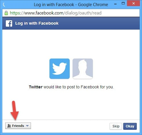 Guide To AutoPost Twitter Mesages to Facebook (4)