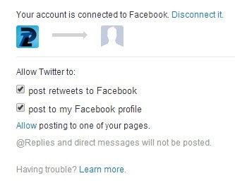 Guide To AutoPost Twitter Mesages to Facebook (5)