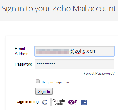 How To Create Personal Mail Account in Zoho (3)