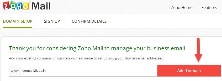 Zoho Mail for custom Domain (1)
