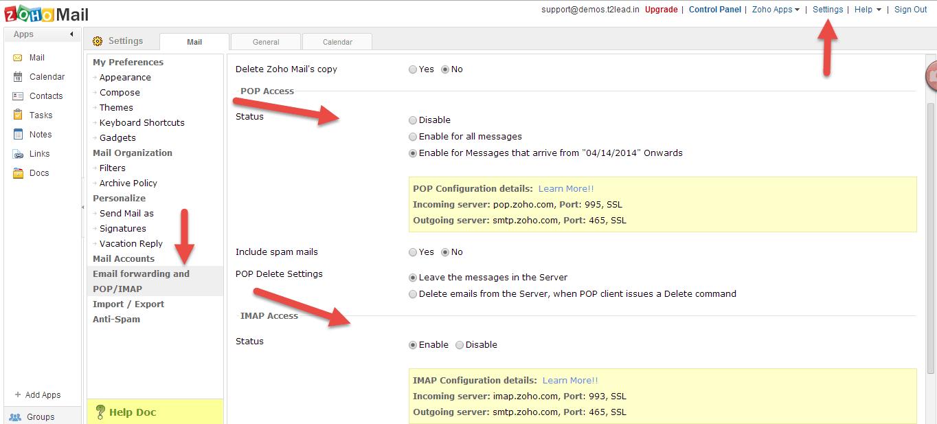 Zoho Mail for custom Domain (6)