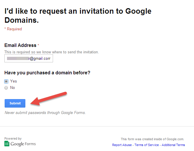 Google Domains - Intro and How To Steps to get Invitation  (2)