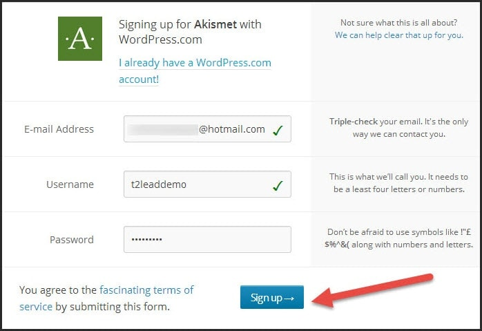 Guide To Use and Get Free Akismet API Key for WordPress Blogs (3)