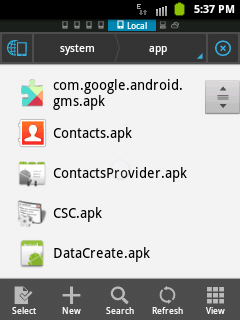 How To]Get Default Applications  apk files in Android