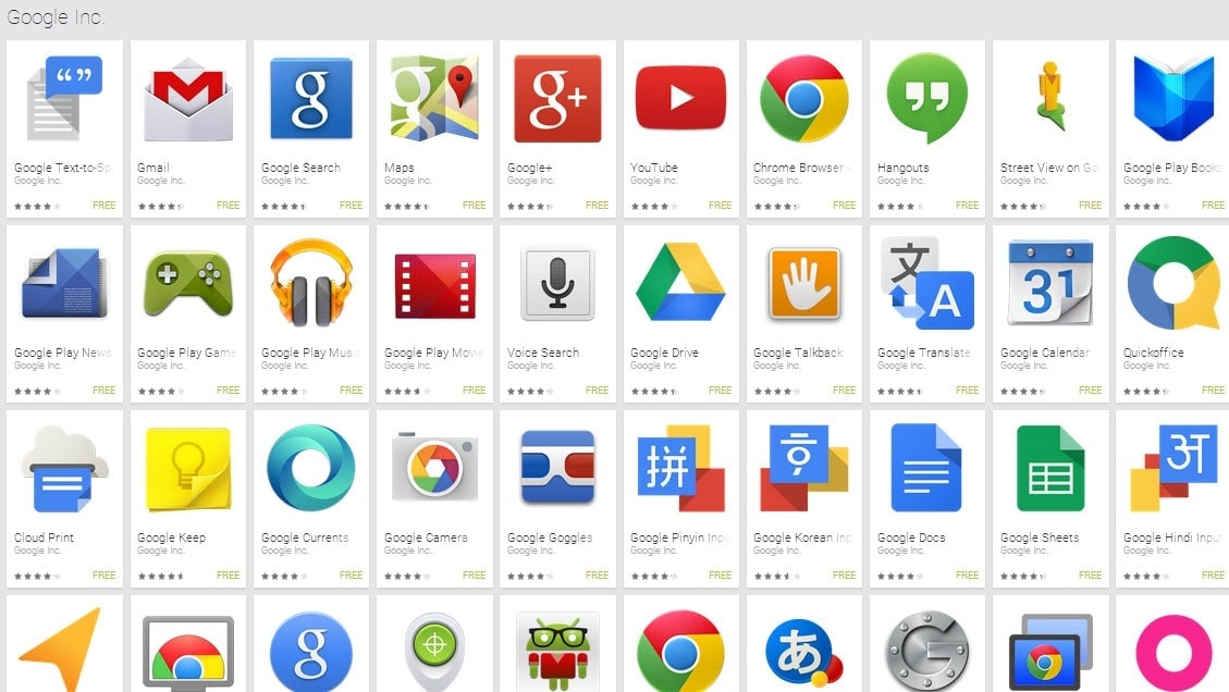 how to delete google apps from android