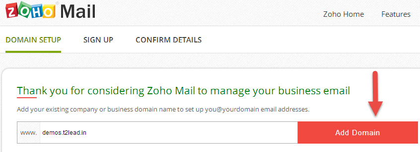 how to add you crazy domains email to google accounts