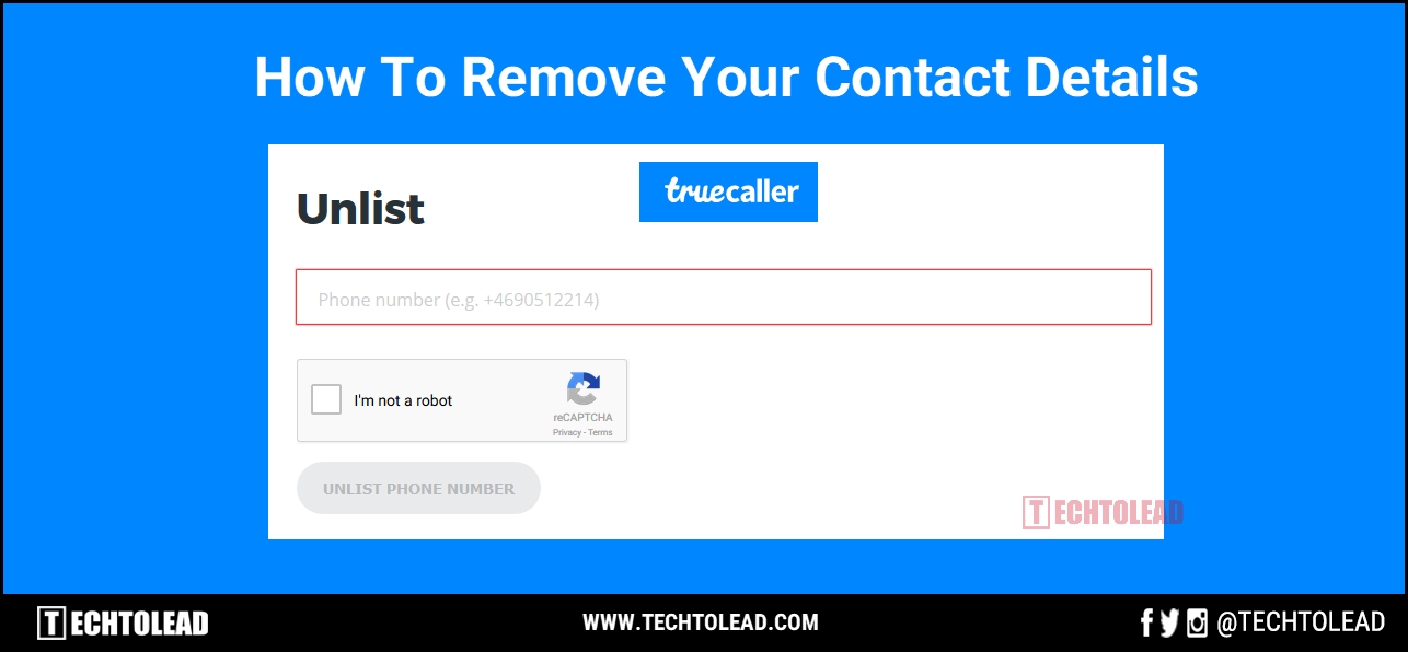 How To Remove Your Contact Details from Truecaller