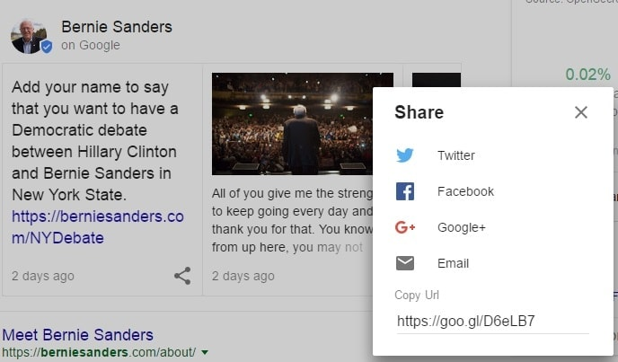 Google Posts or Podium Share
