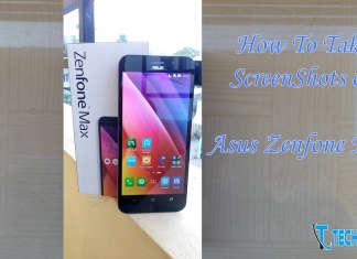 How To Take Screenshot on Asus Zenfone Max