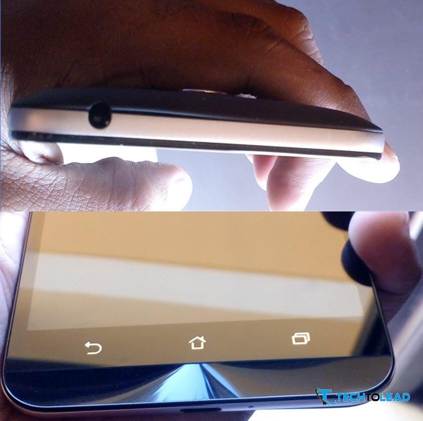 Asus Zenfone Max 2016 - Design