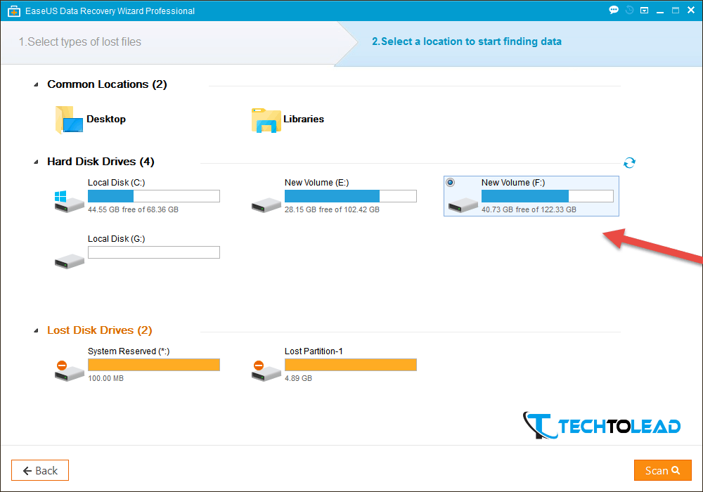 EaseUS data recovery wizard (2)