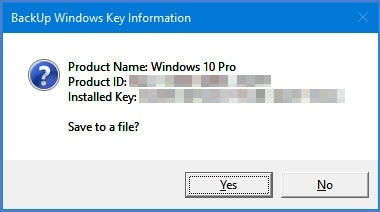 How To View Your Lost Product Key of Windows 10, 8 and 7 Without Any Software 2