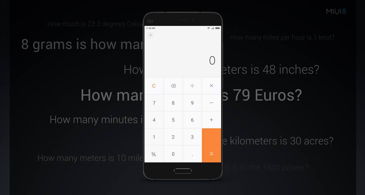 Advanced Calculator-MIUI8