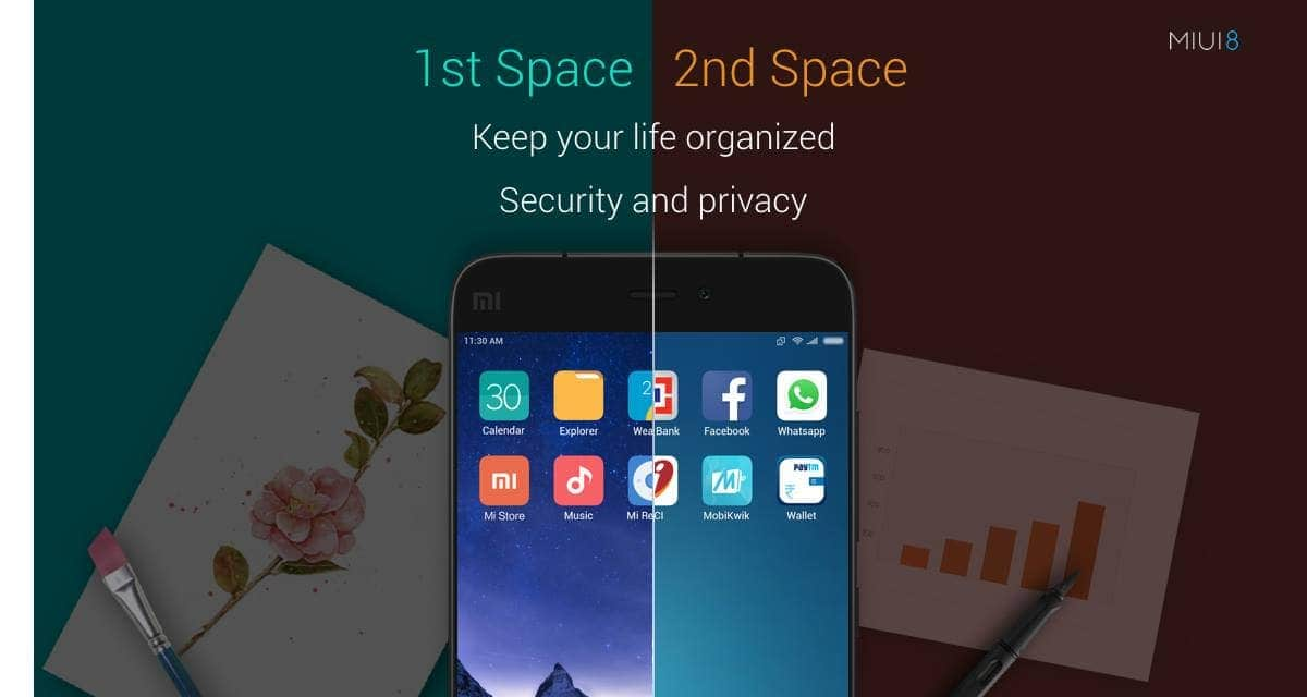 Second Space on MIUI8