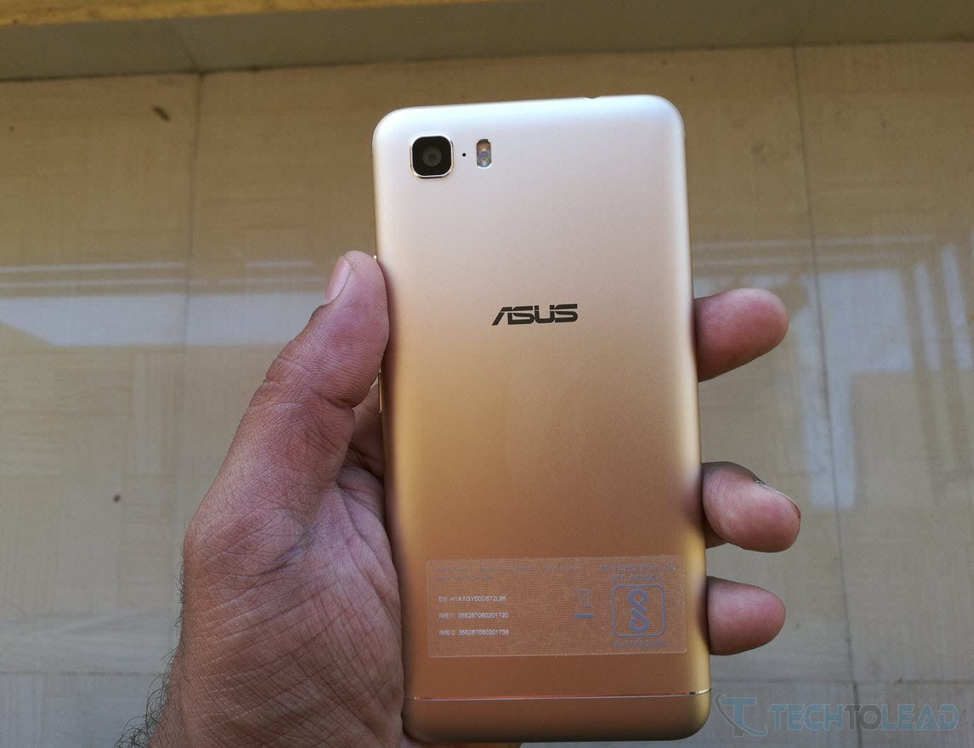Asus Zenfone 3S Max Back Side