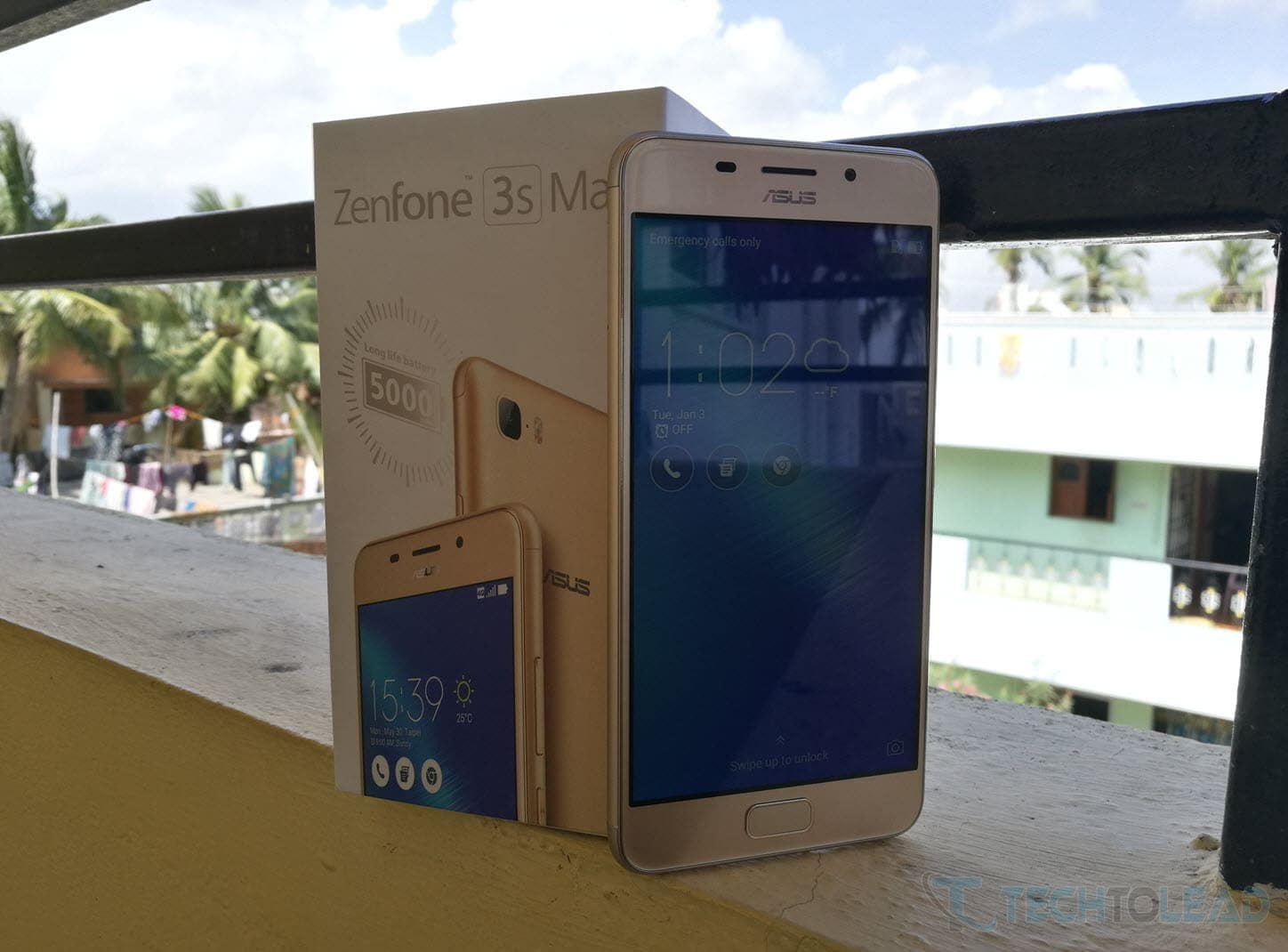 Asus Zenfone 3S Max With Box