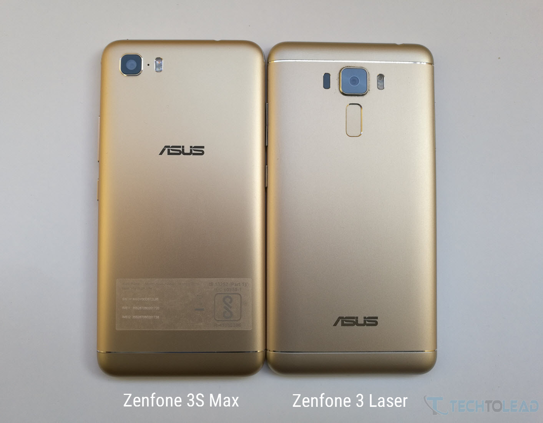 Zenfone 3S Max Vs Zenfone 3 Laser