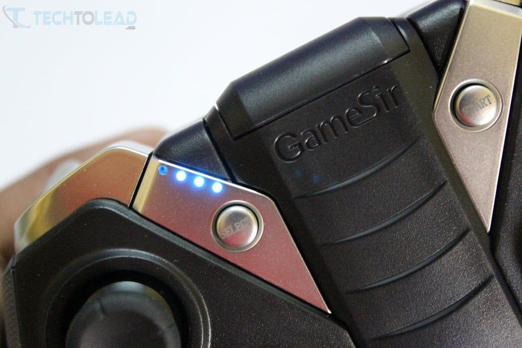 GameSir G4s Battery Indicator