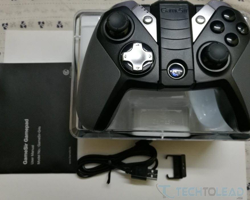 GameSir G4s Box Contents