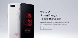 OnePlus 5T Star Wars Edition
