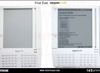 First Ever Amazon Kindle