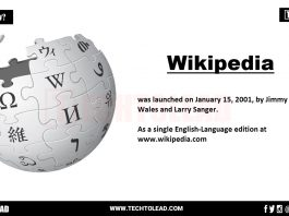 When Did Wikipedia Launched TECHTOLEAD.COM