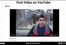 First YouTube Video
