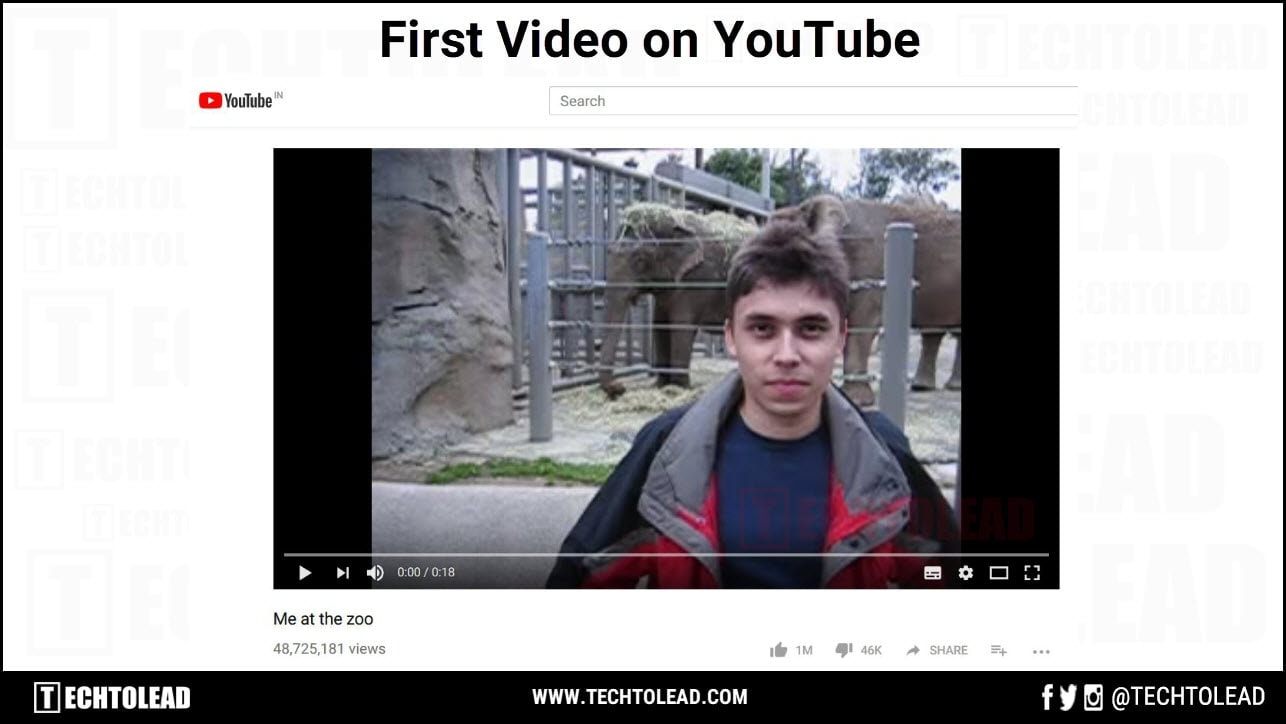 Oldest video on youtube